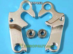 Крюк Серьга Петух X1P053 на Дропаут Велосипеда