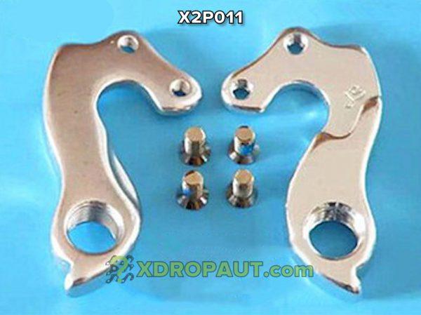 Крюк Серьга Петух X2P011 на Дропаут Велосипеда