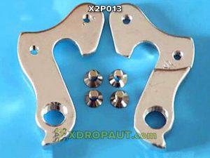 Крюк Серьга Петух X2P013 на Дропаут Велосипеда