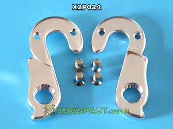 Крюк Серьга Петух X2P024 на Дропаут Велосипеда