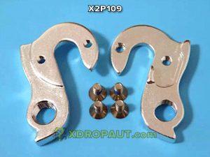 Крюк Серьга Петух X2P109 на Дропаут Велосипеда