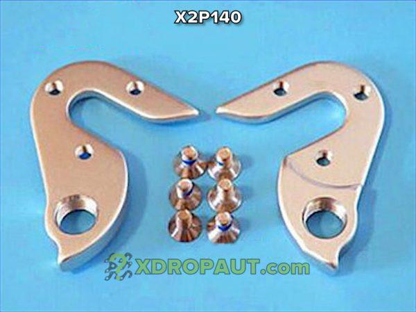 Крюк Серьга Петух X2P140 на Дропаут Велосипеда