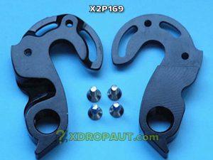 Крюк Серьга Петух X2P169 на Дропаут Велосипеда