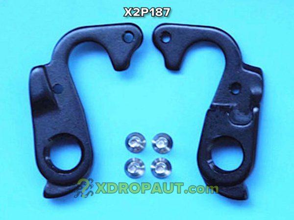 Крюк Серьга Петух X2P187 на Дропаут Велосипеда