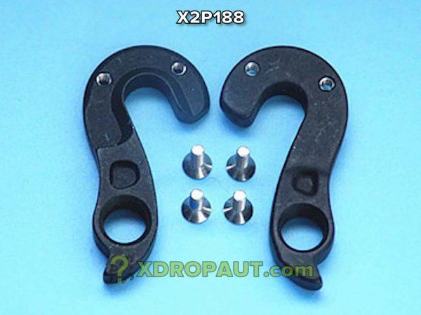 Крюк Серьга Петух X2P188 на Дропаут Велосипеда