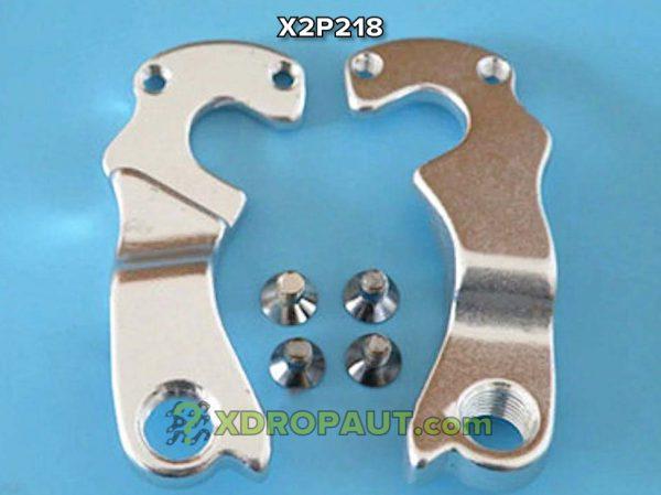 Крюк Серьга Петух X2P218 на Дропаут Велосипеда
