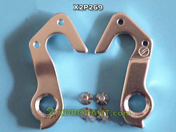 Крюк Серьга Петух X2P269 на Дропаут Велосипеда