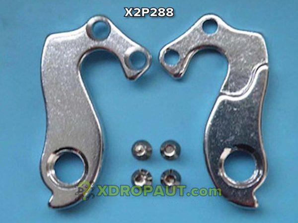 Крюк Серьга Петух X2P288 на Дропаут Велосипеда