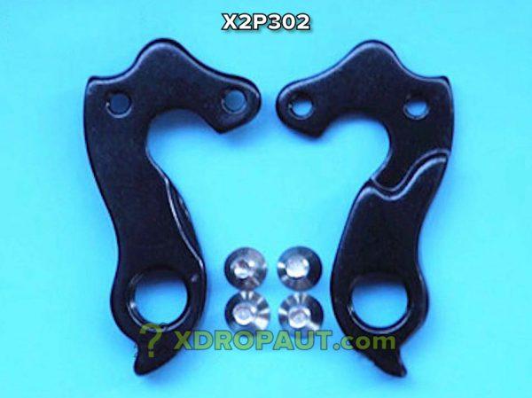 Крюк Серьга Петух X2P302 на Дропаут Велосипеда