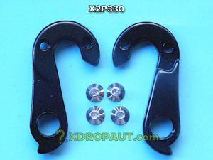 Крюк Серьга Петух X2P330 на Дропаут Велосипеда